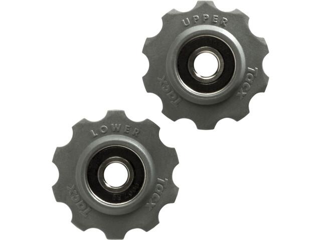 Tacx Schaltungsrädchen Edelstahl-Lager 10 Zähne Shimano/Campagnolo/SRAM